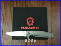 Discontinued Rare Holt Bladeworks Specter 84 V1 with V2 Detent Read Description