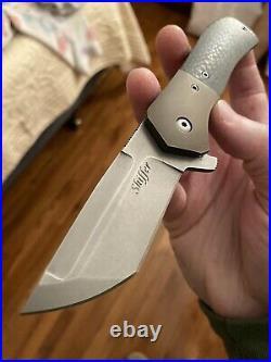 Doc Shiffer Full Custom Recon Flipper Folding Knife RARE