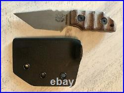 Dwyer Tommy Knife in S30V Hand-ground Tanto Fixed Blade. Strider