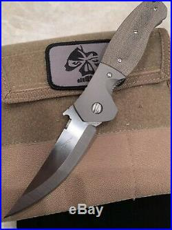 Emerson Custom Knife, Emerson Hatin, Emerson Knife, Best Price Is 1399