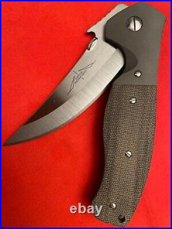Emerson knife custom Hattin