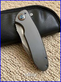 Ferrum Forge One-off Zirconium Fortis Custom Knife