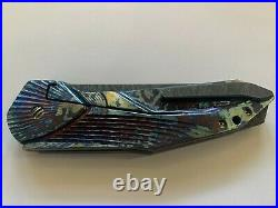 GTC Knife Stampede SLT Custom. Not Chris Reeve, Strider, or Marifone