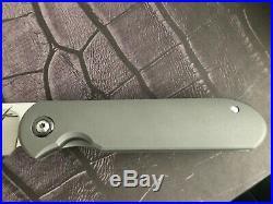 Gareth Bull Shamwari 3.5 Hand Rub Satin Blade Smooth Handles with Zirc Pivots