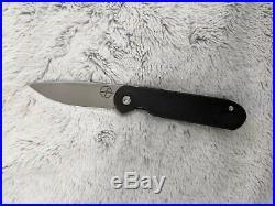 Gareth Bull Shamwari 3 Production Knife (made by WE Knives) NEW