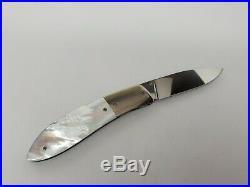 Gayle Bradley Custom Folding Knife New (not A Spyderco)
