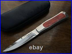 Gil Hibben Custom Folding Knife Coke Bottle Lockback