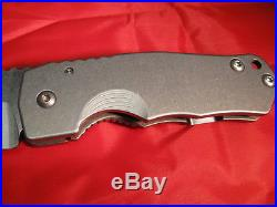Grayman Dua Ti Ti Folder Knife in Excellent Cond with Cpm20cv Blade NR