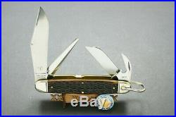 Great Eastern Cutlery Northfield 981416 Antique Yellow Texas Camp Knife
