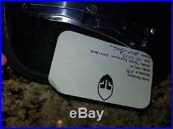 Grimsmo Norseman #071 Shinny Blue Hineycomb Titanium New Unused Mint