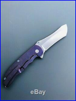 Grimsmo Norseman #1784, Purple with ice blue hardware