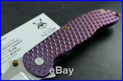 Grimsmo Norseman #2492 Purple Diamond Pattern