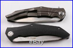 HIGH QUALITY 9Cr18MOV 60HRC G10 CNC sharp camping Survival rescue knife Knife