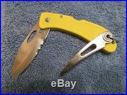 Handmade Knife. David Boye Mariner Lockback Unused. Excellent
