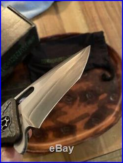 Heretic Knives Martyr, (Double Clad) SAN MAI Steel, Anthony Marfione Jr # 009/25