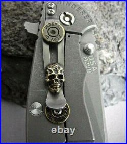 Hinderer Rick Hinderer Steel Flame Clip &. 45ACP Lockbar XM-18 XM-24 Eklipse