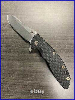 Hinderer XM-18 3.5 Gen4 Skinner Blade With Bronze Hardware