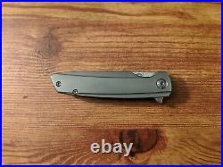 Holt Bladeworks Specter V4 889 Nude Burnished Near Mirror Blade in M390