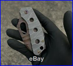 Homer Knife # 171 Custom Handmade Titanium VG10 Like Strider Hinderer Chaves