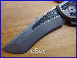 Jake Hoback Knives Custom Paraclete CTS-XHP Inlaid G10 Authorized Dealer