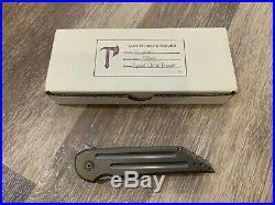 Jake Hoback Special Edition Bronze Kwaiback UHEP 2015 Folding Knife