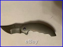 Jeff VanderMeulen Custom homicide Knife Boomerang Mokuti Clip BNIB