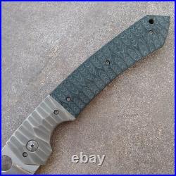 Jens Anso Amok Custom Liner Lock Folder Framelock Knife Rare