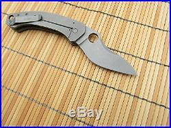 Jens Anso Custom Funk Frame Lock Folder Knife