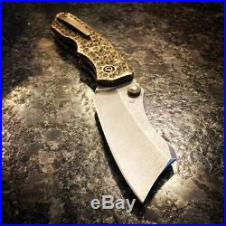 Kingdom Armory Bill The Butcher Drop Belly, Dragon Skin Bronze Scales Brand New