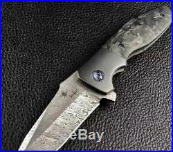 Kirby Lambert Augustus Custom Flipper Knife not Tad Gear