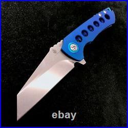 Kizer CK Critical Ki4508 Flipper Frame Lock Knife 3.6 Stonewash BWL Custom