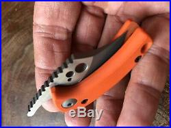 Koch Tools Wasp Friction Folder Knife Orange G10 Brand new