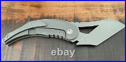 Komodo We Knife Northside Knife Titanium EDC Tactical Pocket Knife S35VN