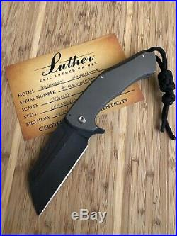 Luther Knives Prototype Warnaught NEW