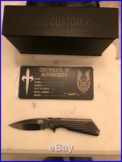 MARFIONE/STRIDER Custom MSG-3 Flipper Knife