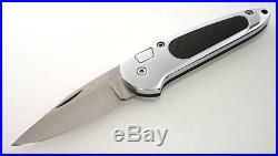 MONTBLANC CARBON KNIFE MECHANICAL MED With BOX NIB RARE