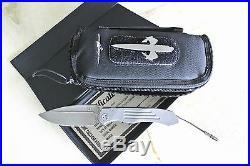 Marfione Custom Knives Anax Stonewash TAD Edition Gear Special