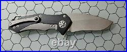 Marfione Custom Knives Starlord Flipper Knife In Apocalyptic Finish