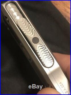Marfione Custom Knives TKI 2019 Ironwood & mokume inlays