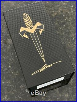 Marfione Custom MSG-3.5 DLC Apocalyptic S/N 006 Microtech Strider Knives Ti NIB