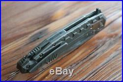Marfione Custom Sigil MK6 M390 Blade Apocalyptic Finish Copper Bronzed Hardware
