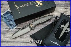 Marfione Custom Sigil MK6, SW DLC M390, SW DLC Titanium WithBronze HW + Extras