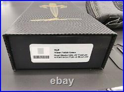 Marfione Custom Sigil Titanium Chasis HP Blued Titanium Hardware