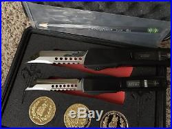 Marfione John Wick Continental Set Hellhound Tanto Troodon Ultratech Microtech