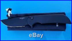Massdrop Ferrum Forge Pro-tech Mordax Black DLC blade knife