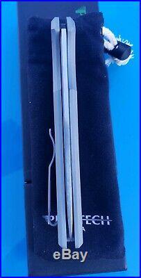 Massdrop Ferrum Forge Pro-tech Mordax button lock knife First Run #OG21