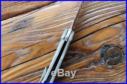Massdrop x Ferrum Forge Crux S35VN Titanium Frame Lock Folding Knife
