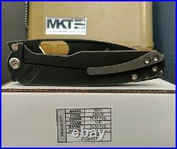 Medford Infraction S35VN 3.25 Blade Black Ops PVD Handles Blade Knife BNIB
