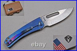 Medford Knife Dress Marauder with S35-VN with Ti Faced/Flm Handle & Ti Hdw (349)