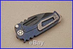 Medford Knife Micro Praetorian-T with CPM-3V (PVD) & Titanium (0057)